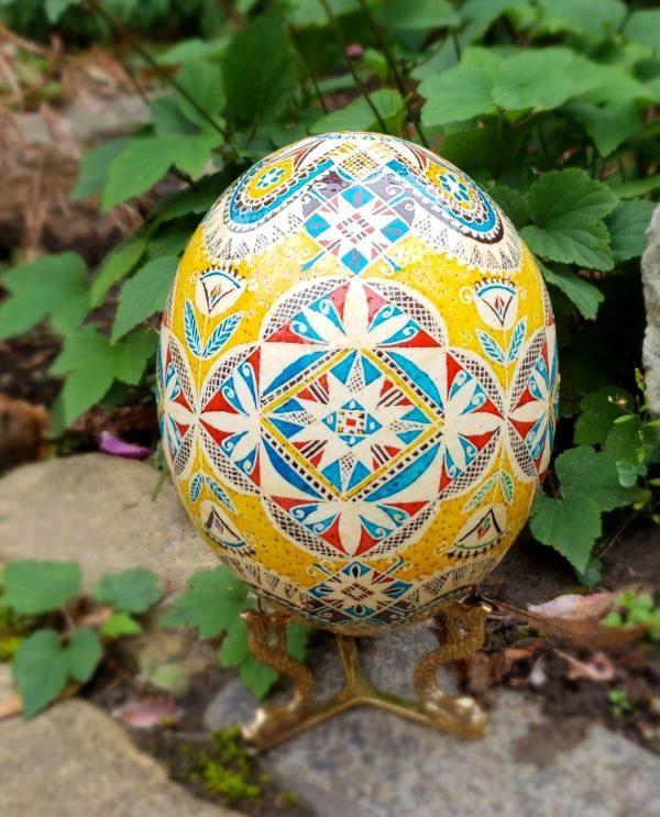 ostrich egg for sale pysanka Easter eggs