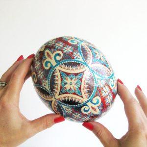 ostrich egg pattern