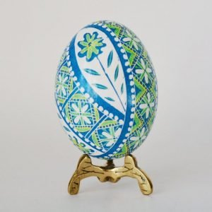 pysanky egg real chicken egg ornament