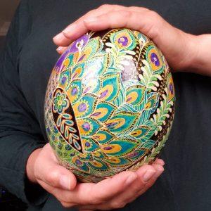 wedding Peacock egg